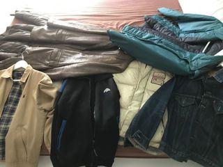 Lote chaquetas (sport y de vestir)