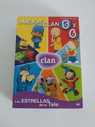 Lo Mejor de clan DVD Volumen 5 y 6
