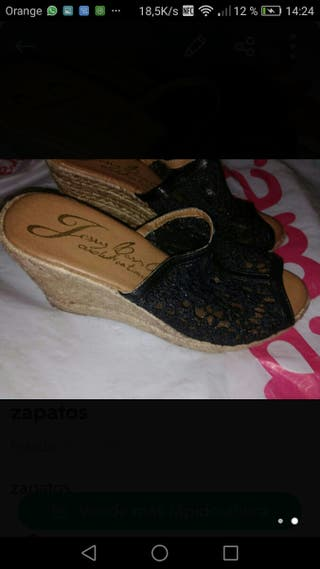 Dos pares zapatos marca 36