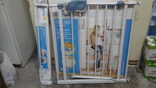 Barra para puertas/escaleras de seguridad infantil