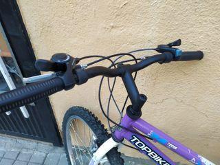 "Bicicleta BTT 24"""