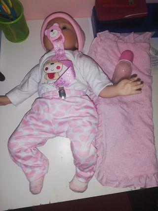 muñeco reborn niña