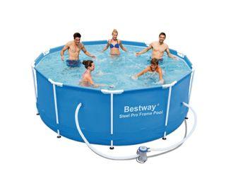 piscina tubular bestway steel 305 x 100