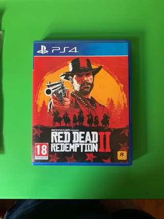 Red Dead Redemtption II PS4