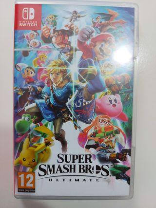 súper smash bros Nintendo switch