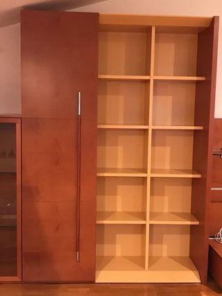 SICOMORO armario 2,20x0,60x0,45 +estanteria amaril