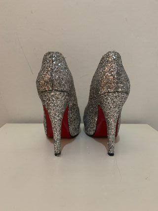 Zapatos glitter de fiesta