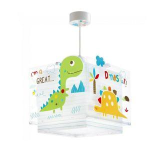 Lámpara techo niños Dinosaurios