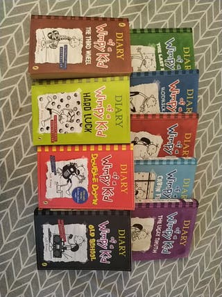 Diary of a Wimpy Kid - Libros en Inglés