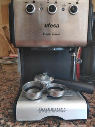 cafetera Ufesa expresado + monodosis