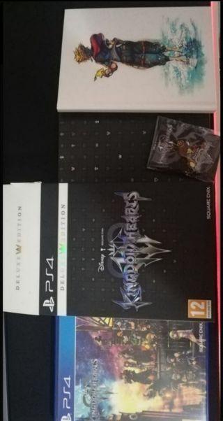 Kingdom Hearts 3 - Edicion Deluxe PS4
