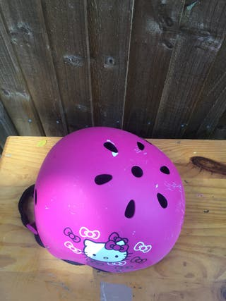 Hello kitty bike cap