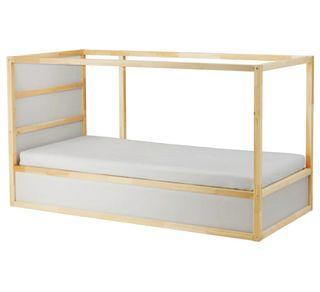 cama niños IKEA KURA