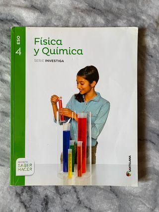 Libro Física y Química 4ESO Santillana