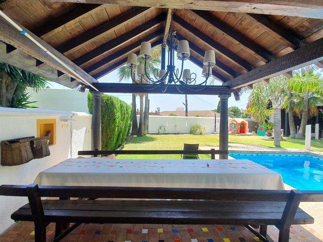 casa de invitados con jardín y piscina (Mijas, Málaga)