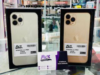 iPhone 11 pro 64gb nuevo. garantia y factura.
