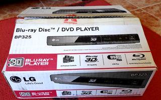 Reproductor de Blu-ray 3D LG BP325 - como nuevo