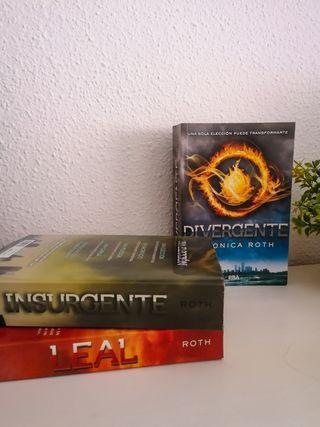 Trilogía Libros Divergente