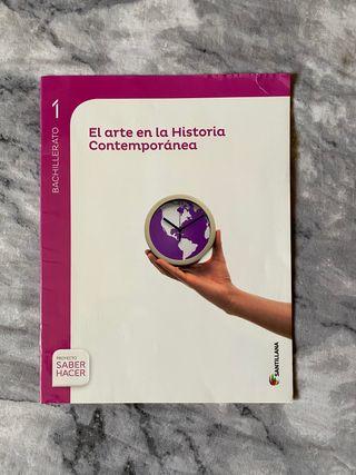 Cuadernillo de El arte de historia contemporánea