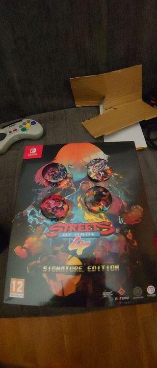 Street of rage 4 Nintendo switch