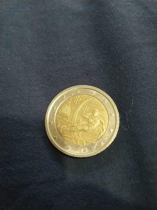 Moneda 2 euros Italia 2006