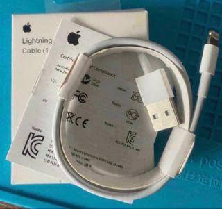 Cable usb lightning original apple iphone