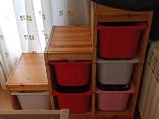 estantería almacenaje