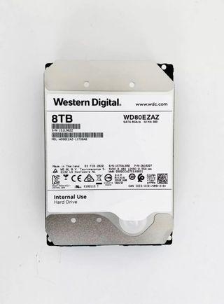 "Disco duro 8TB 3,5"" WD"