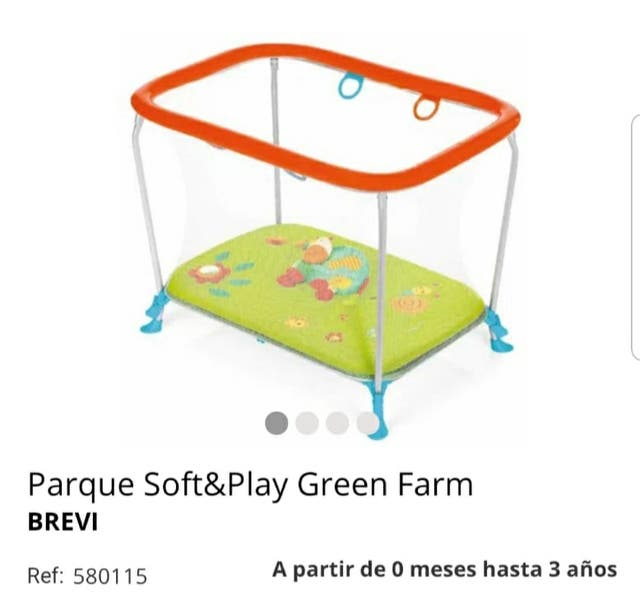 Parque soft & play Green farm de brevi