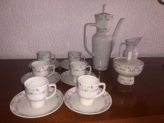 Juego de café antiguo Jäeger.