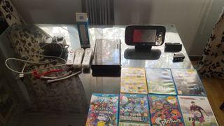 WII U + 3 mandos + 7 juegos