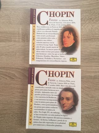 Cd + libro Chopin
