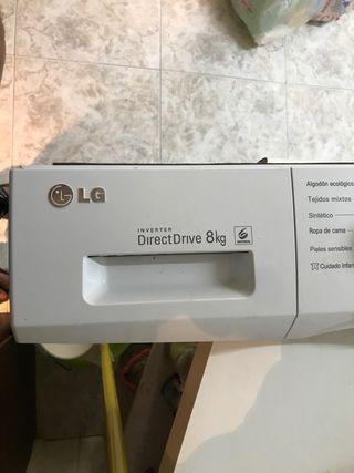 Panel de controles lavadora lg