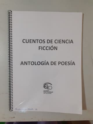 Cuentos de ciencia ficción. Antología de poesía.
