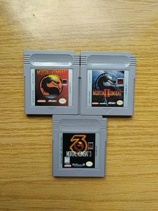 Trilogía Mortal Kombat para Gameboy