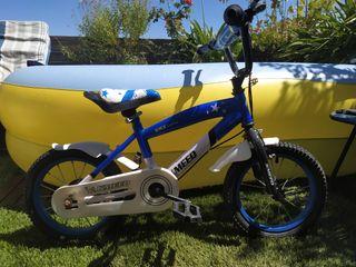 """Bicicleta niño/a llanta de 14"""""""