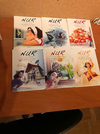 Colección 6 cuentos de Nur