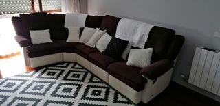 Sofa esquinero.