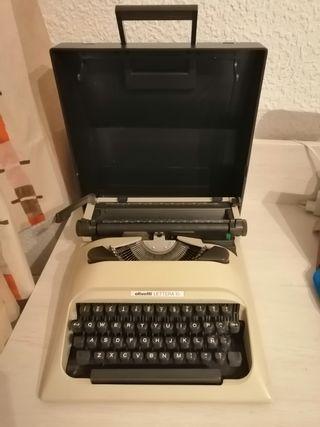 Máquina de escribir Olivetti Lettera 10 manual