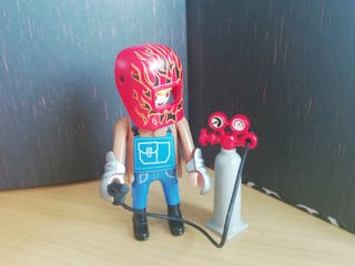 Figura Playmobil serie 14. Soldador.