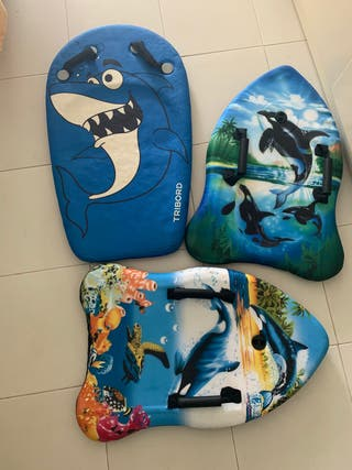 3 Tablas de surf de niños