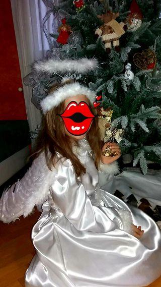 disfraz Ángel niña con accesorios precioso