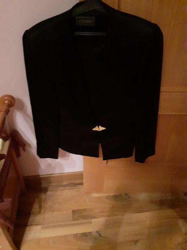 chaqueta raso de satén