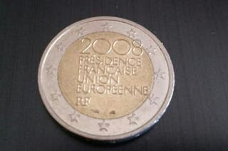 moneda conmemorativa francesa 2008 de 2 €