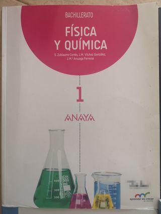 Libro de FyQ 1ºbachillerato