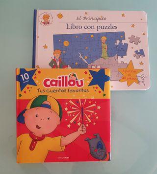 Lote libros:Caillou (10 cuentos) y El Principito