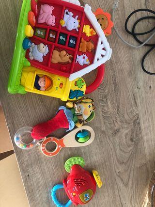 Juguetes niño 0-3 años