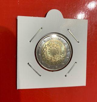 Moneda 2 euros conmemorativa Eslovaquia 2015