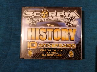 SCORPIA CENTRAL DEL SONIDO HISTORY 10 ANIVERSARIO