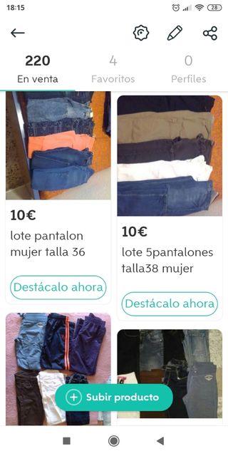 Gran lote ropa